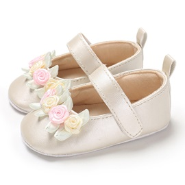 Floral Velcro Toddler Shoes