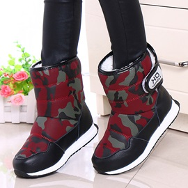 Camouflage Winter Boots