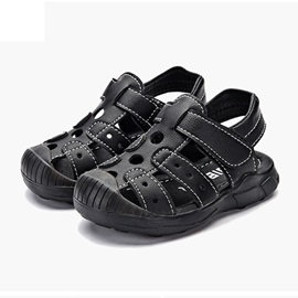 Hollow Velcro Baby Sandals
