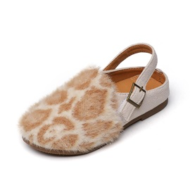 Round Toe Low-Cut Upper Casual Kid's Sandals