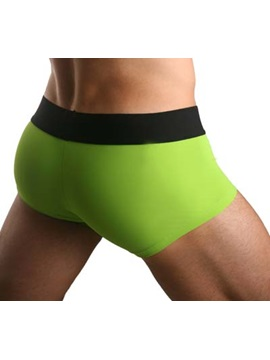 Excellent Washable Men's Underwear Broad Waistband Sports Trunks