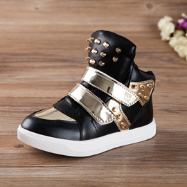 Metallic Rivets Kids's Sneakers