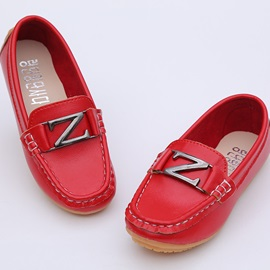 Stylish Metal Lettered Comfot Kid's Flats