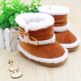 Solid Color Toddler's Shoes Baby Boots