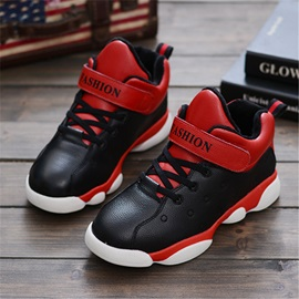 Stylish Color Block Lace-Up Kid's Sneakers