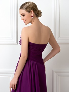 Sweetheart Floor Length A-Line Bridesmaid Dress