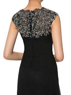 Sequins Appliques Mother of the Bride Dress