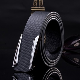 Stylish Embossed Men's Belt