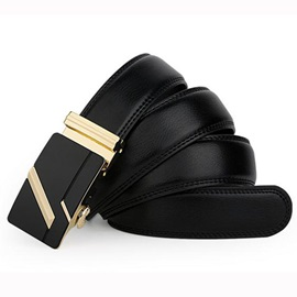 Hot Sale Embossing Leather Men's Belt