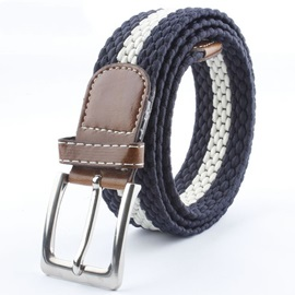 High Quality Weave Men Belt
