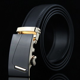 Casual Embossing Thread Men Belt