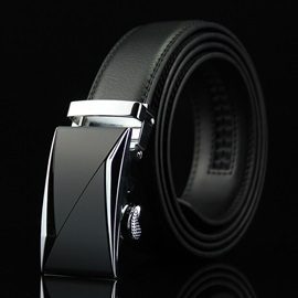 Solid Embossing Business Men Belt
