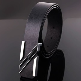High Quality Casual Smooth Buckle Men's Belt