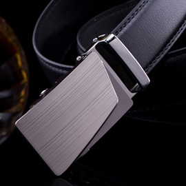 Alloy Buckle Men's Automatic Belt