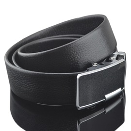 Alloy Automatic Buckle Solid Belt for Men