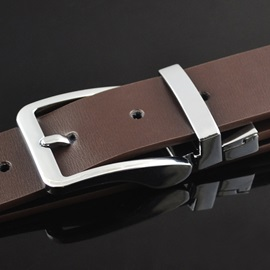Alloy Pin Buckle Casual Belt