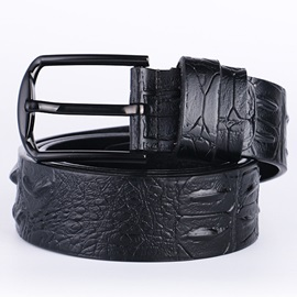 Concise Business Pin Buckle Men's Belt