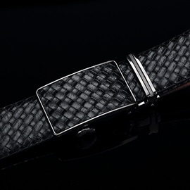 Men's Automatic Buckle Braided Belt