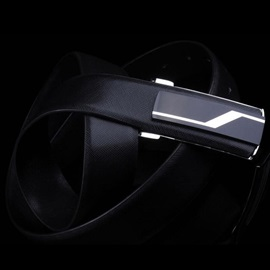 Personality Smooth Buckle Design Men's Belt