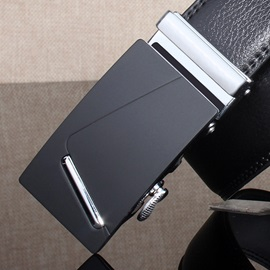 High Quality Leather Automatic Buckle Men's Belt