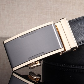 High Quality Alloy Automatic Buckle Belt for Men