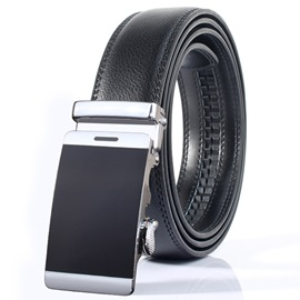 Alloy Automatic Buckle Regular Belt for Men