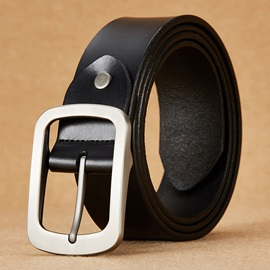 Leisure All Match Genuine Leather Men's Belt