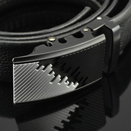 Men's Automatic Buckle Leather Belt for Men