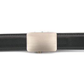 Hot Business Style Automatic Buckle Genuine Leather Belt for Men