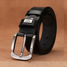 All Match Leisure Pin Buckle Artificial Leather Belt