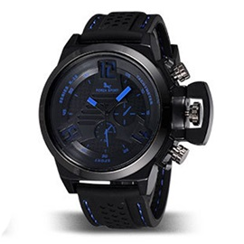 Pin Buckle Water Resistant Man Watch