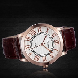 Graceful Men Watch with Letters