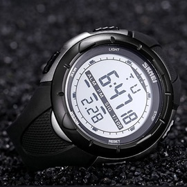 Luminous Digital Men Watch