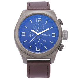 Large Dial Pin Buckle Men's Casual Watch