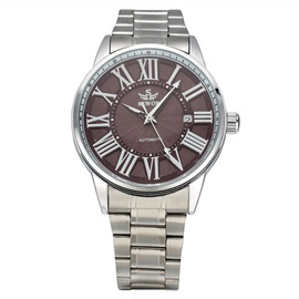 Round Dial with Roman Numeral Men's Watch
