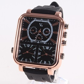 Stripe Pattern Design Men's Casual Watch