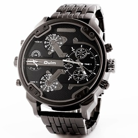 Classic Alloy Band Men's Analog Watch