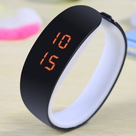 Candy Colored LED Bracelet Watch