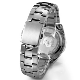 Luminous Pointer Design Waterproof Men's Watch