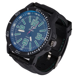 Colorful Digital Scale Dial Design Watch for Men