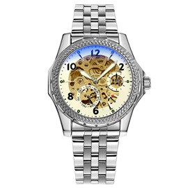 Small Dial Design Automatic Mechanical Watch for Men