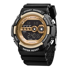 Multifunctional Shock Resistant Digital Men's Sports Watches