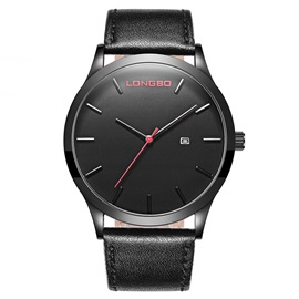 Casual Leather Quartz Men's Watches