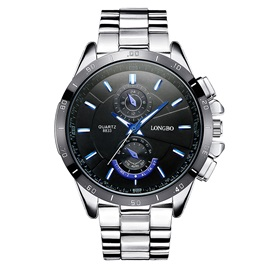 Luminous Dial Steel Business Style Men's Watch