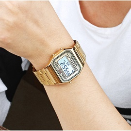 Digital Steel Mesh Men's Watch