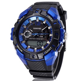 Double Tone Multi-Function Sports Men's Digital Watch