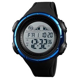 Glass Surface Digital Chronograph Outdoor Men's Watch