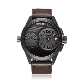Analogue Display Double Movement Men's Sport Watch