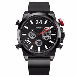 Round Quartz Chronograph Watch For Men