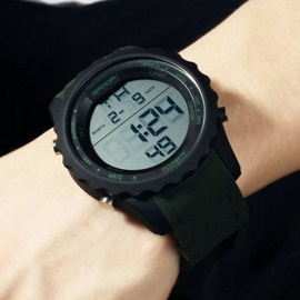 Digital Luminous Round Watch For Men